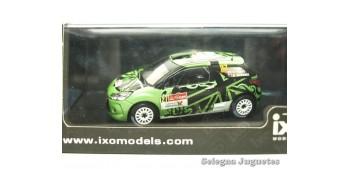 coche miniatura Citroen Ds3 27 Hunt Portugal 1/43 Ixo coche a