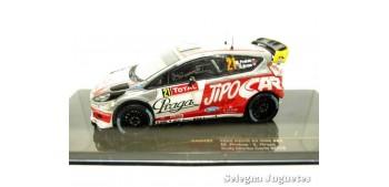 miniature car Ford Fiesta Rs Prokop - Hruza scale 1/43 Ixo
