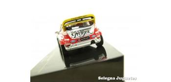 coche miniatura Ford Fiesta Rs Prokop - Hruza 1/43 Ixo coche a