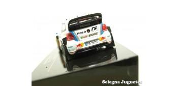 Volkswagen Polo Latvala 2013 scale 1/43 Ixo Miniature car