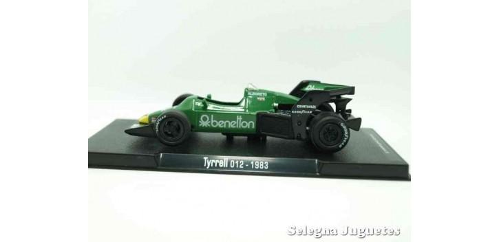 coche miniatura Tyrrel 012 1983 (vitrina defecto) F1 1/43 Rba