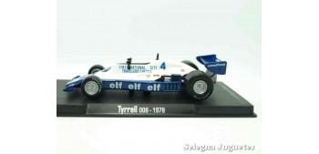 miniature car Tyrrel 008 1978 (vitrina defecto) F1 scale 1/43