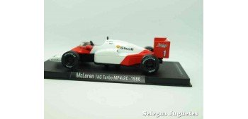 McLaren Tag turbo MP4/2C 1986 (vitrina defecto) F1 1/43 Rba coche a escala