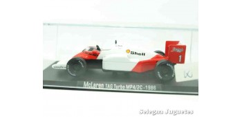 McLaren Tag turbo MP4/2C 1986 (vitrina defecto) F1 1/43 Rba coche a escala