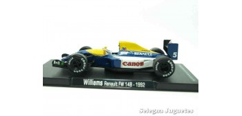 miniature car Williams Renault Fw 148 1992 (vitrina defecto) F1