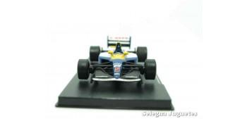 coche miniatura Williams Renault Fw 148 1992 (vitrina defecto)