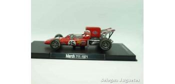 miniature car March 711 1971 (vitrina defecto) F1 scale 1/43 Rba