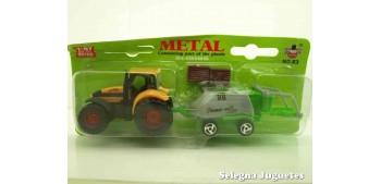 miniature truck Tractor con procesadora escala 1/87 artículo