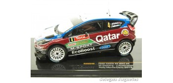 miniature car Ford Fiesta Rs WRC Ostberg Montecarlo 2013 scale