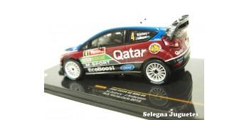 coche miniatura Ford Fiesta Rs WRC Ostberg Montecarlo 2013 1/43