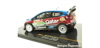 Ford Fiesta Rs WRC Ostberg Montecarlo 2013 scale 1/43 Ixo Miniature car