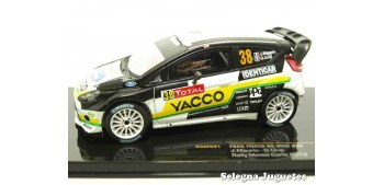 miniature car Ford Fiesta Rs WRC Maurin Montecarlo 2012 scale