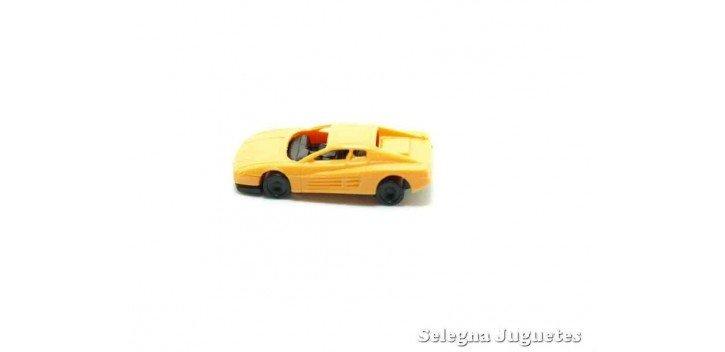 Ferrari Testarossa escala 1/160 Euro Model Coche a escala muy pequeño