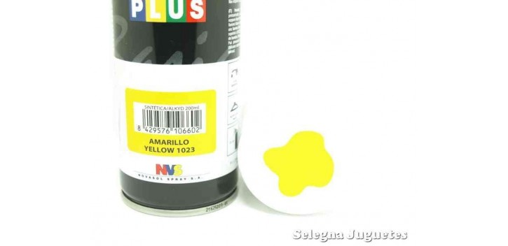 Amarillo - Pinty plus - Pintura Sintetica - Bote spray 200 ml