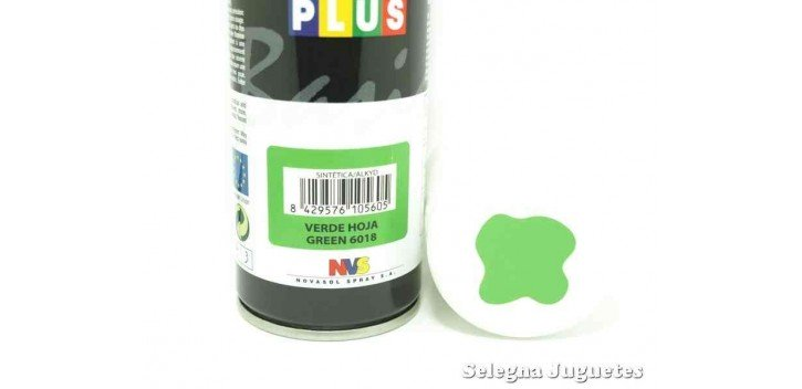 Verde hoja - Pinty plus - Pintura Sintetica - Bote spray 200 ml