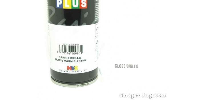 Barniz brillo - Pinty plus - Pintura Sintetica - Bote spray 200