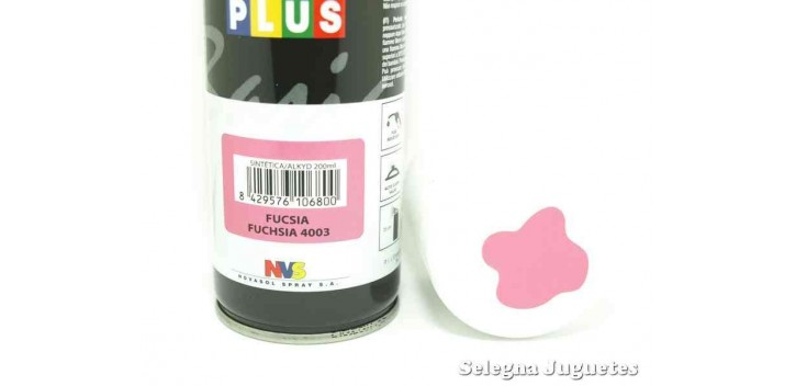 Fucsia - Pinty plus - Pintura Sintetica - Bote spray 200 ml