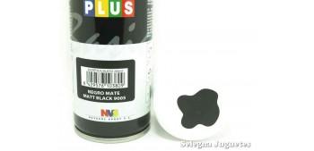 Negro Mate - Pinty plus - Pintura Sintetica - Bote spray 200 ml Pintura y Pinceles