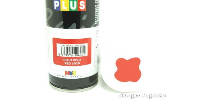 Rojo Vivo - Pinty plus - Pintura Sintetica - Bote spray 200 ml