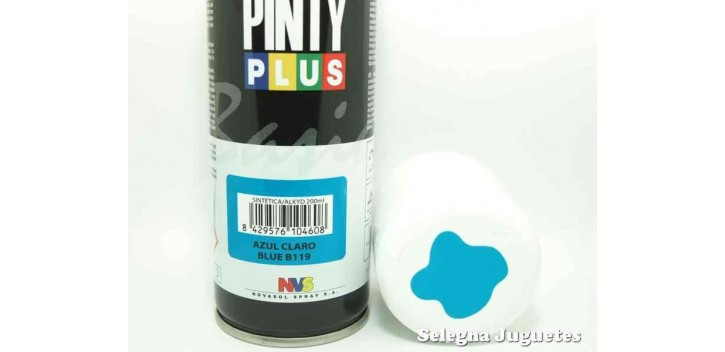 Azul Claro - Pinty plus - Pintura Sintetica - Bote spray 200 ml