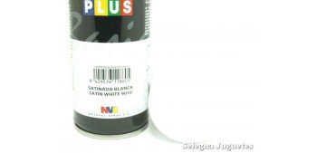 Satin White 9010 - Pinty plus basic spray paint - Spray 200 ml