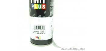 Blanco Mate - Pinty plus - Pintura Sintetica - Bote spray 200 ml