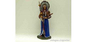 Gran Jefe Sioux - Indio - Soldado Plomo - 90 mm Altaya