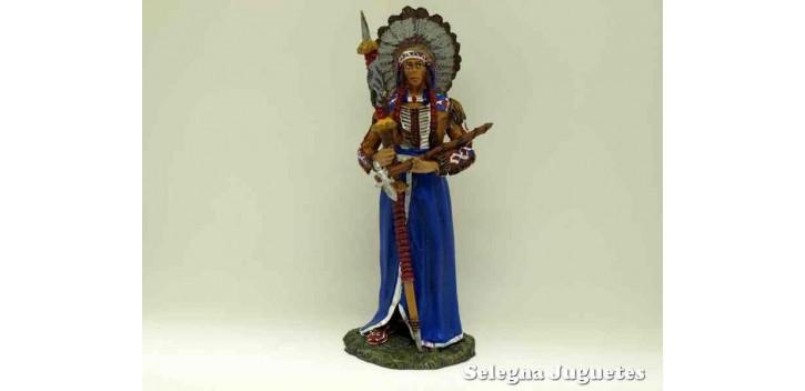 soldado plomo Gran Jefe Sioux - Indio - Soldado Plomo - 90 mm