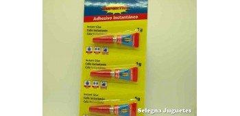 Adhesivo instantano 3 unidades de 1 gramo