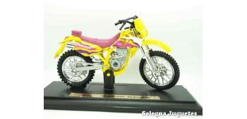 moto miniatura Kawasaki KLX250SR escala 1/18 Maisto moto