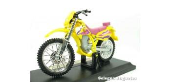 Kawasaki KLX250SR escala 1/18 Maisto moto miniatura