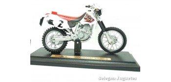 Honda XR400R escala 1/18 Maisto moto miniatura