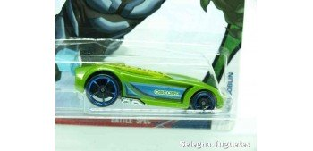 Battle Spec Green Goblin escala 1/64 Hotwheels coche miniatura