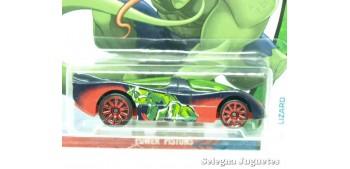 coche miniatura Power Pistons Lizard escala 1/64 Hotwheels