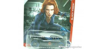 16 Angels Black Widow escala 1/64 Hotwheels coche miniatura metal