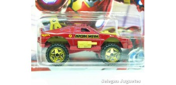 coche miniatura Sting Rod Iron Man escala 1/64 Hotwheels coche