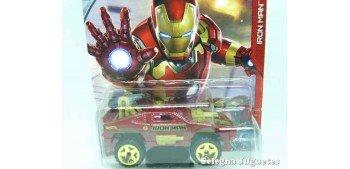 Sting Rod Iron Man escala 1/64 Hotwheels coche miniatura metal