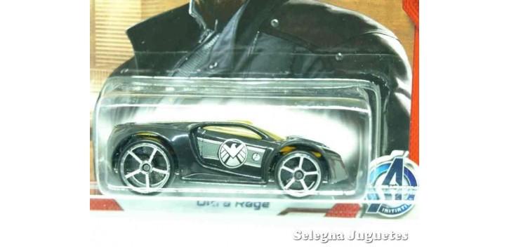 coche miniatura Ultra rage Nick Fury escala 1/64 Hotwheels