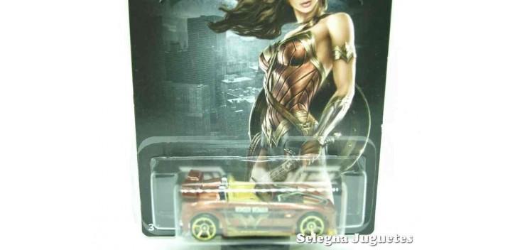 Tantrum Wonder Woman escala 1/64 Hotwheels coche miniatura metal