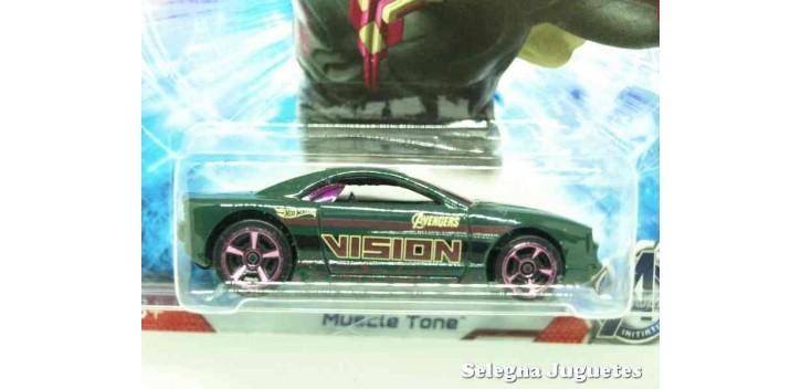 coche miniatura Muscle Tone escala 1/64 Hotwheels coche