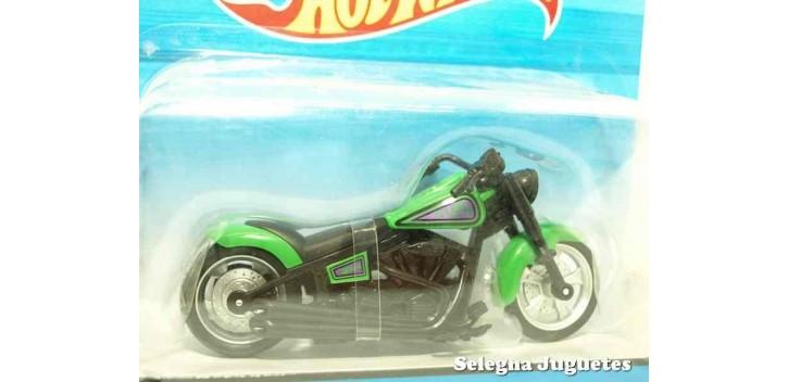 moto miniatura Fat Ride moto escala 1/18 Hot Wheels