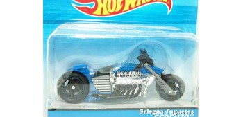 moto miniatura Ferenzo moto escala 1/18 Hot Wheels