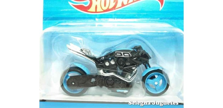 moto miniatura X-Blade azul moto escala 1/18 Hot Wheels