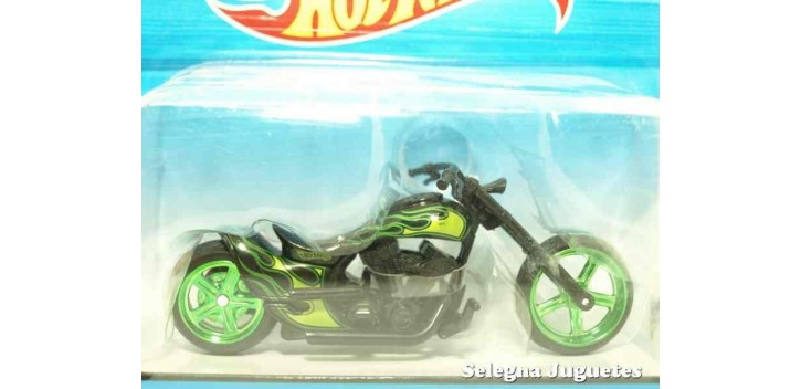 Twin Flame moto escala 1/18 Hot Wheels