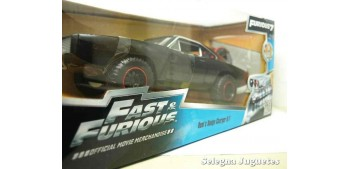 Dom's Dodge Charger R/T Fast & Furious escala 1/24 Jada coche