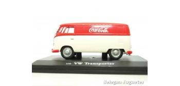 Volkswagen Transporter Coca Cola escala 1/43 Motor City Classics Coche metal miniatura