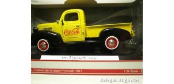 coche miniatura Plymouth Pickup Coca Cola escala 1/24 Motor