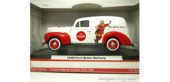 Ford Sedan Delivery 1940 Coca Cola escala 1/24 Motor City Classics Coche metal miniatura