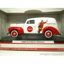 <p><strong>Ford Sedan Deliverty 1940 Coca Cola</strong></p> <p><strong>Motor City Classics</strong></p> <p><strong>1/24 - 1:24</strong></p>