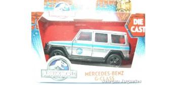 coche miniatura Mercedes Benz G-Class scale 1/43 Jada Jurassic